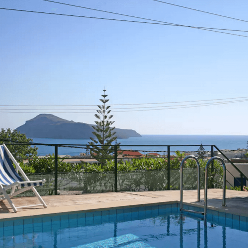 Pelagos Holidays Apartments Pool