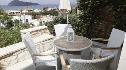 Pelagos Holidays Apartments Terrace