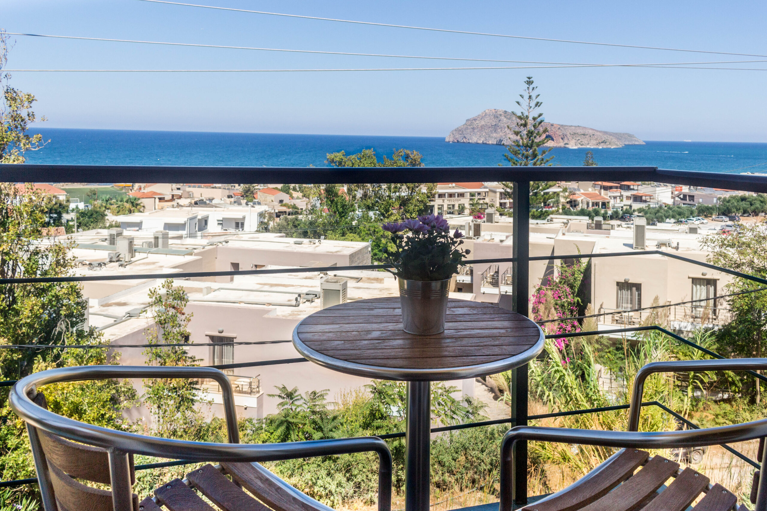 Pelagos Holidays Apartments - Balcony View